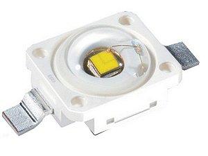 LED 3W Golden Dragon Osram Branco Quente 3000K K1117