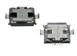 Conector Micro USB 5 PINOS 5S TIPO B DIP1.0 SMD K1458