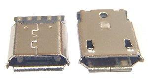 Conector Micro USB 5 Pinos para cabo K1451