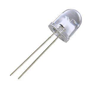LED 10mm Ultra Brilho Amarelo Âmbar 585-590nm K1416