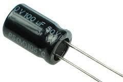 Capacitor Eletrolítico RD 100UF/50V D8H12 105C PTH K1366
