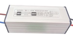 Fonte Driver para 1 LED 20W Bivolt IP67 K1363