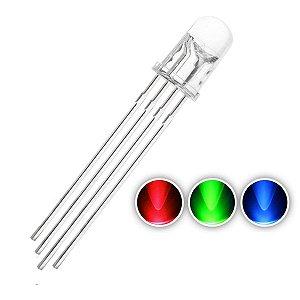 LED 5mm RGB Catodo Comum Alto Brilho K1344
