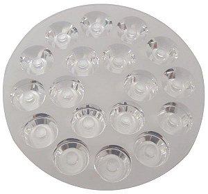 Lente 30 Graus Para 18 LEDs De 1w Ou 3w JR-110-18-30 K1327