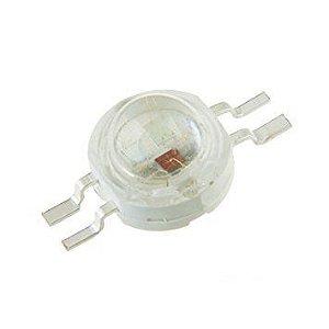 LED 3W RGB (3*1W) 4 Pinos Anodo Comum Pinagem GRCB (Padrão) K1314