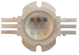 LED 27W/30W RGB (3*3*3W) 6pinos BGR K1642