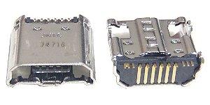 Conector Mini Usb Fêmea Compatível Com Galaxy Tab K1640