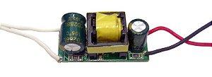 Fonte Driver Para 4 A 7 LEDs De 1W Bivolt K1587