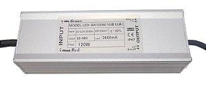 Fonte Driver para 1 LED de 120W 12-24V IP67 K1580