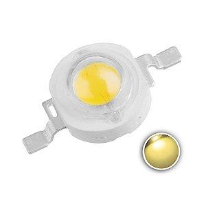LED 1W Branco Quente 3000-3200K K1545