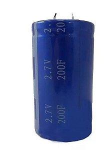 Super Capacitor Eletrolítico Radial 200F/2.7V D35H62 PTH S0016