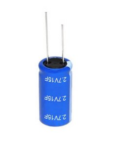 Super Capacitor Eletrolítico Radial 15F/2.7V D12.5H34 PTH S0011