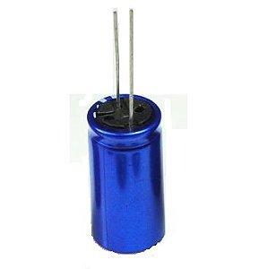 Super Capacitor Eletrolítico Radial 1.0F/2.7V D8H13 PTH S0006
