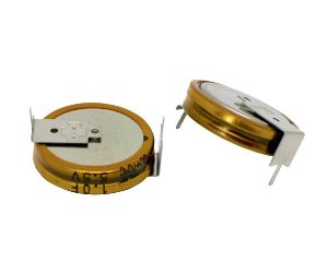 Super Capacitor Eletrolítico Radial Tipo H 1.5F/5.5V PTH S0001