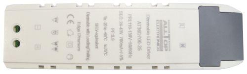 Fonte Driver Para 8 A 12 LEDs De 2W Ou 3W 110V Dimerizavel K1724