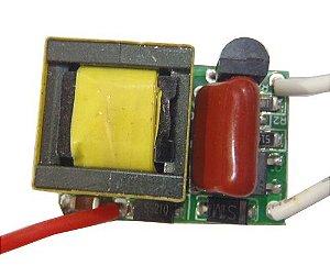 Fonte Driver Para 2 a 3 LEDs De 1W Dimerizável 220V K1719