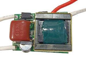 Fonte Driver Para 2 a 3 LEDs De 1W Dimerizável 110V K1718