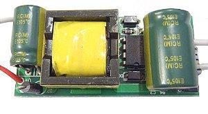 Fonte Driver para 12 a 18 LEDs de 1W Bivolt K1715