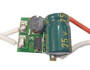 Fonte Driver Para 1 A 3 LEDs De 1W 12-24V K1711