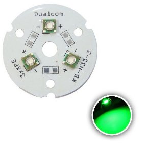 Power LED Cree XPE 9W Verde 520nm (Q4) K1678