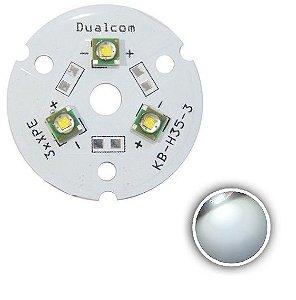 Power LED Cree XPE 9W Branco Frio 6000K (R3) K1673
