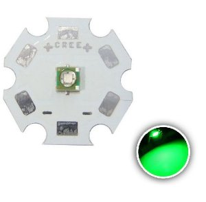 Power LED Cree XPE 3W Verde 520nm (Q4) K1672