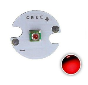 Power LED Cree XPE 3W Vermelho Photo 660nm 12mm K1864