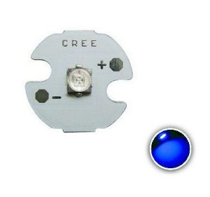 Power LED Cree XPE 3W Azul 465nm (K2) 12mm K1861