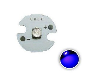Power LED Cree XPE 3W Azul Royal 450nm 12mm K1860