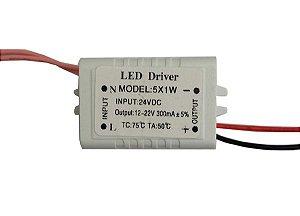 Fonte Driver para 4 a 7 LEDs de 1W 24V K1833