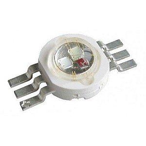 LED 3W RGB (3*1W) 6 Terminais K1763