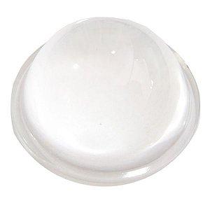 Lente 80 Graus em Vidro Para LED de 10W a 200W 50mm com Suporte Inox K1758