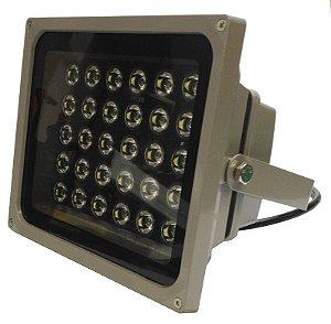 Refletor LED Branco Frio 15000K 30W 90 Graus IP67 K1982