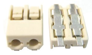 Conector SCREWLESS BLOCK 2 PINOS 4mm SMD K1920