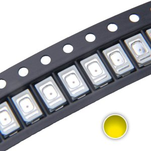 LED 5730 0.5W Amarelo Âmbar 590-595nm SMD K1897