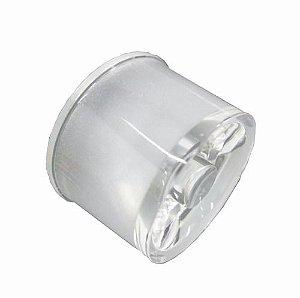 Lente 25 Graus para LED de 1W ou 3W Waterproof Prismática K2077