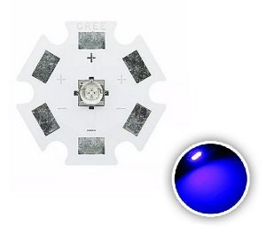 Power LED Cree XTE 5W Azul Royal 455nm K1990