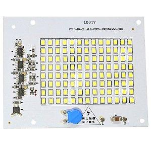 Modulo LED 50W Branco Frio 6000K Driver Integrado 220V K2154