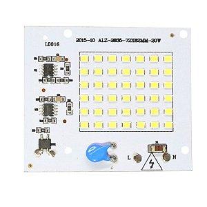 Modulo LED 20W Branco Quente 3000K Driver Integrado 220V K2151