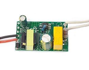Fonte Driver para 1 a 3 LEDs de 1W Bivolt K2238