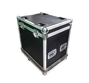 Flight Case Para transporte de Painel LED 64x64cm 4 Divisões K2602