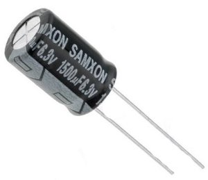 Capacitor Eletrolítico 1500UF/6.3V D8H20 PTH 941