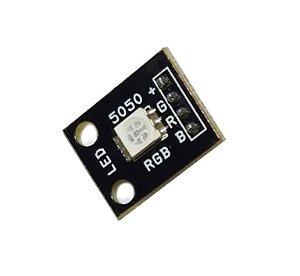 Módulo 1 LED 5050 RGB Anodo Comum SMD Arduino MSP PIC 35984