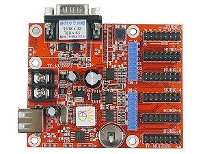 Placa controladora TF-MU 6xHUB12 + 2xHUB08 Para Painel de LED K2639