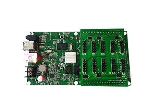 Placa Controladora TF-QC3 + Adaptador HUB75E10 Para Painel de LED K2638