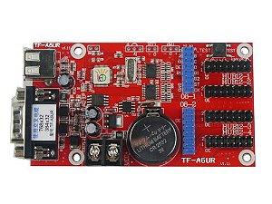 Placa Controladora TF-A6UR 4xHUB12 + 2xHUB08 Para Painel de LED K2635