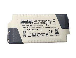 Fonte Driver para 8 a 12 LEDs de 1W Bivolt K2695