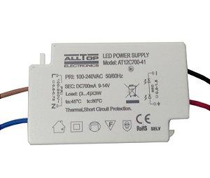 Fonte Driver para 3 a 4 LEDs de 3W Bivolt K2697