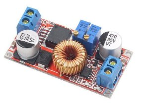 LED driver buck 5A 75W entrada 4 a 38V (12V - 24V) saída 1.25 a 36V CI XL4015 Ajustavel VxI sem case K2677
