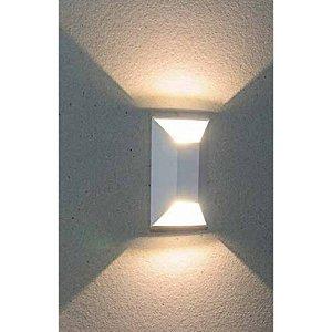 Balizador de Embutir LED 2W Bivolt Retangular Onix Duplo